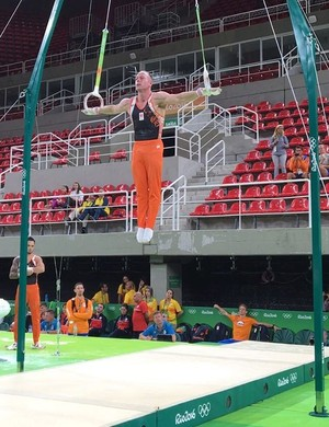 Yuri van Gelder na Olimpída (Foto: Reprodução/Instagram)