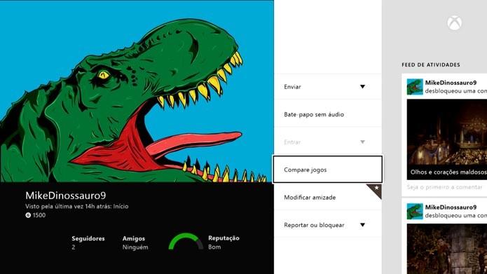 Clique em Compare Jogos (Foto: reprodução/Murilo Molina)