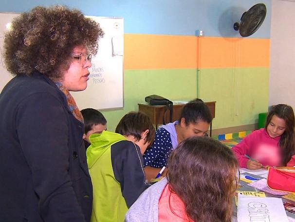Projeto Convexo ensina criança e jovens sobre empreendedorismo social em Porto Alegre (Foto: Globo)