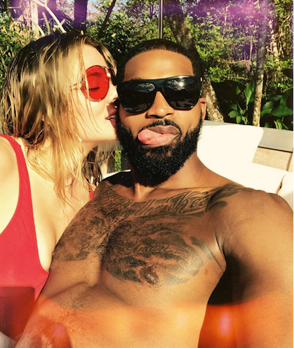Khloé Kardashian e Tristan Thompson (Foto: Instagram)