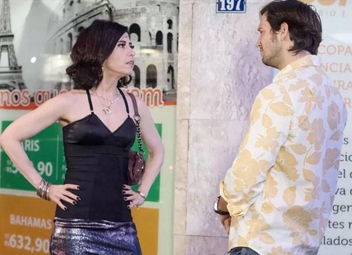 Armane e Fátima viveram uma relação de amor e ódio  (Foto: TV Globo)