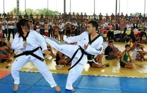 Rita e Magno, irmãos Acre taekwondo (Foto: Arquivo Pessoal)