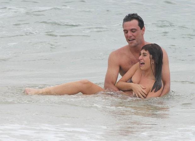 Rodrigo Lombardi e Fernanda  (Foto: Delson Silva / AgNews)
