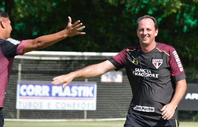 Primeiro treino técnico Rogério Ceni São Paulo (Foto: Érico Leonan / saopaulofc.net)