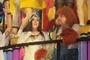 'Fofão' é destaque durante desfile da Rosas de Ouro (Orlando Oliveira/AgNews)