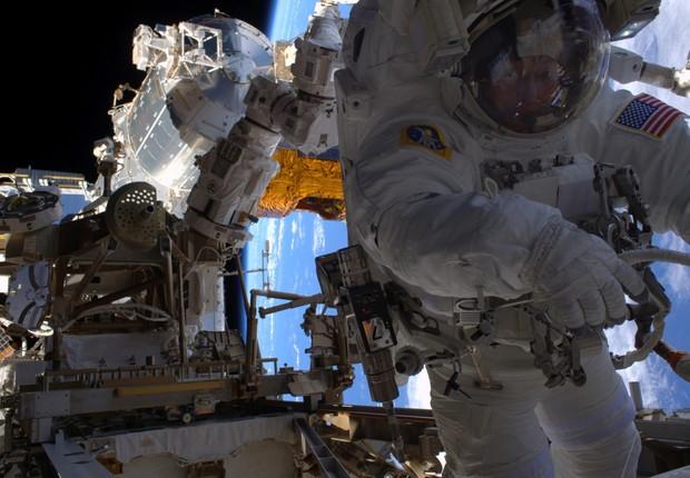 Nasa, astronauta, estação espacial internacional, espaço,  (Foto: Nasa)