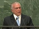 Temer diz na ONU que impeachment respeitou a Constituição