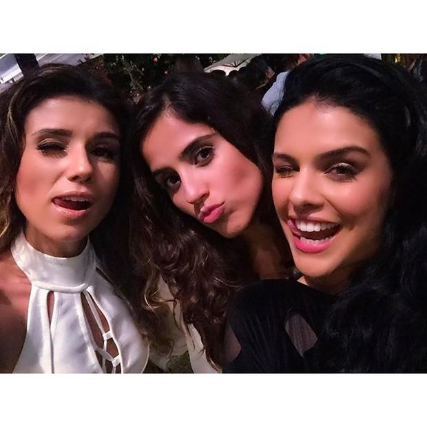 Paula Fernandes, Camilla Camargo e Paloma Bernardi (Foto: Reprodução/Instagram)
