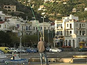 Ikaria Grécia (Foto: BBC)