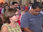 Missa de Cinzas em Mogi marca início (Reprodução/ TV Diário)