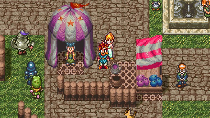 Como um RPG um pouco fora do convencional Chrono Trigger era bem popular nas locadoras (Foto: Reprodução/OC Remix)