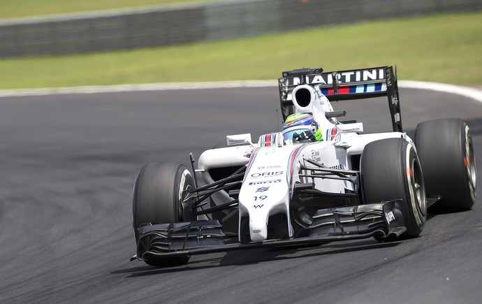 GP Brasil Fórmula 1 - Felipe Massa (Foto: EFE)