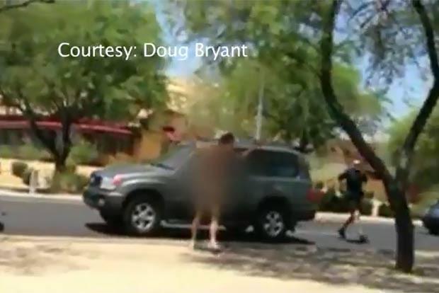 Incidente bizarro ocorreu em Scottsdale, no estado do Arizona. (Foto: Reprodução)