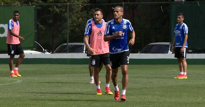 Wendel e Maycon, volantes Ponte Preta (Foto: Reprodução EPTV)