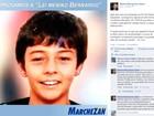 Avó de Bernardo pede para deputado tirar foto do menino de propaganda