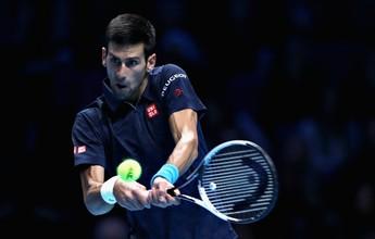 Djokovic engole Nishikori e pega Murray por taça e topo do ranking