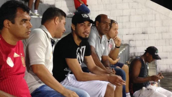 Hernane - ABC x América-RN (Foto: Carlos Cruz/GloboEsporte.com)
