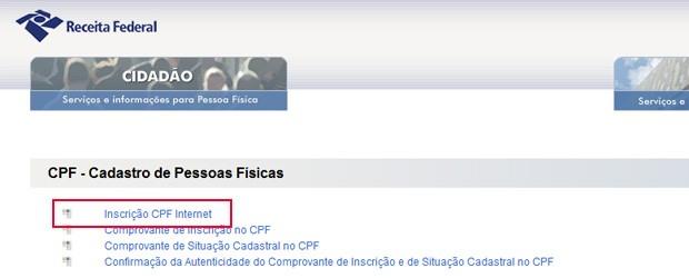 CPF 2 (Foto: Reprodução)