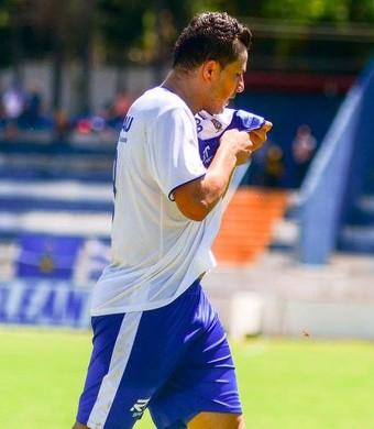 Jorge Mauá atacante Taubaté (Foto: Bruno Castilho/EC Taubaté)