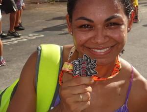 Silvania Ferreira Corrida do Fogo  (Foto: Arquivo pessoal )