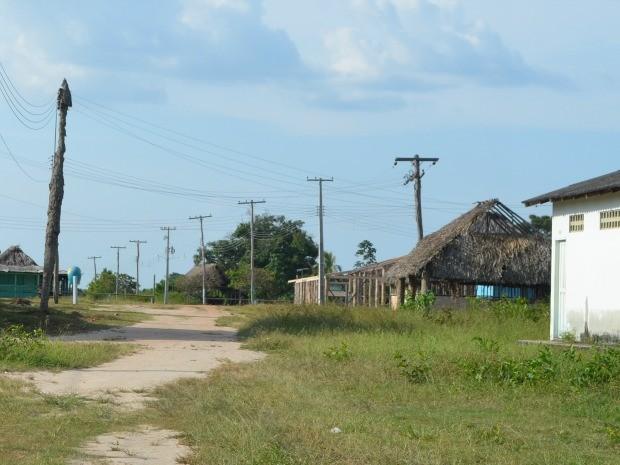 Comunidade Indígena da Malacacheta, no município do Cantá (Foto: Valéria Oliveira/ G1)