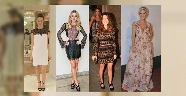 Laura Neiva, Fiorella Mattheis, F Paes Leme e Gio Ewbank adoram um bordado.  (Foto: Reproduo GNT)