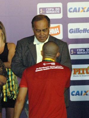 Virgílio Elisio, Campinense, Copa do Nordeste, Paraíba (Foto: Renata Vasconcellos / Globoesporte.com/pb)
