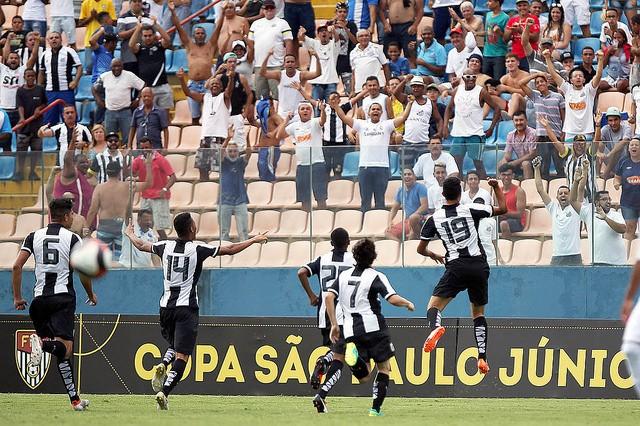 Santos empatou com Audax (Foto: Pedro Ernesto Guerra Azevedo/Santos FC)