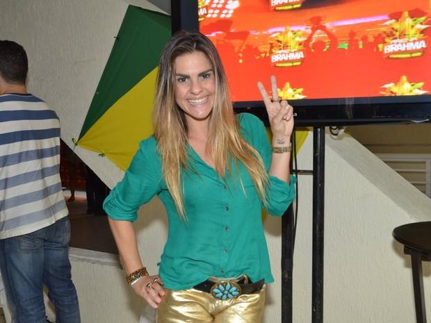 Lívia Lemos (Foto: Léo Marinho / AgNews)