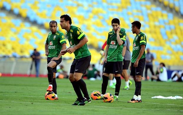 Fred brasil treino (Foto: André Durão / Globoesporte.com)