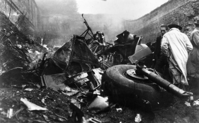 acidente Torino 1949 (Foto: Agência Getty Images)
