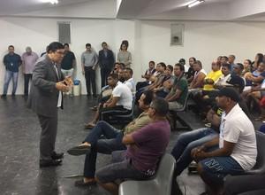 Reunião Alírio Santa Cruz (Foto: Assessoria de imprensa)