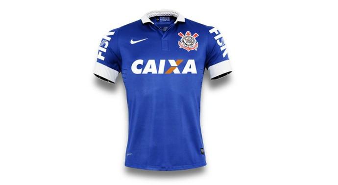 Camisa Corinthians azul (Foto: Divulgação)