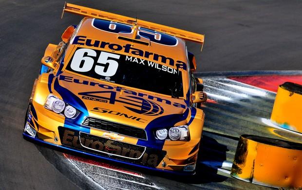 Stock Car - Max Wilson guia o carro 65 da RC no Velopark (Foto: Duda Bairros / Stock Car)