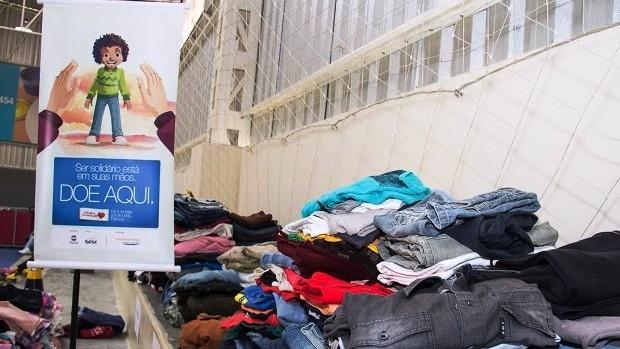 Campanha do Agasalho chega a 3ª semana em Santa Catarina (Foto: Daniele Carrier/Divulgação)
