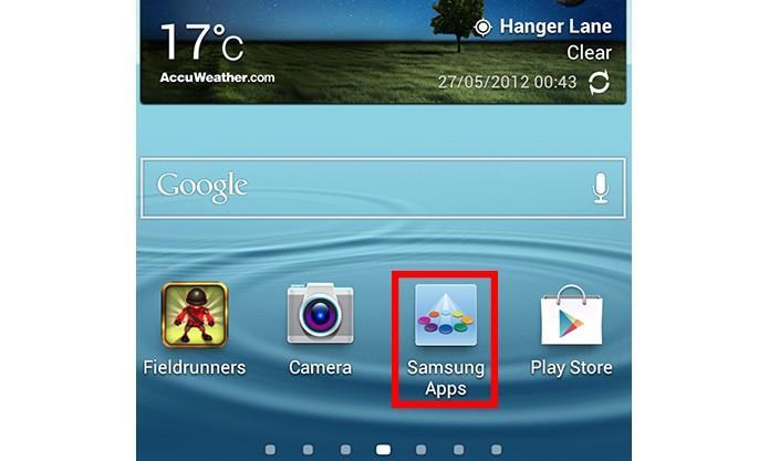 Tente logar no Samsung Apps (Foto: Reproduçao/Paulo Alves) (Foto: Tente logar no Samsung Apps (Foto: Reproduçao/Paulo Alves))