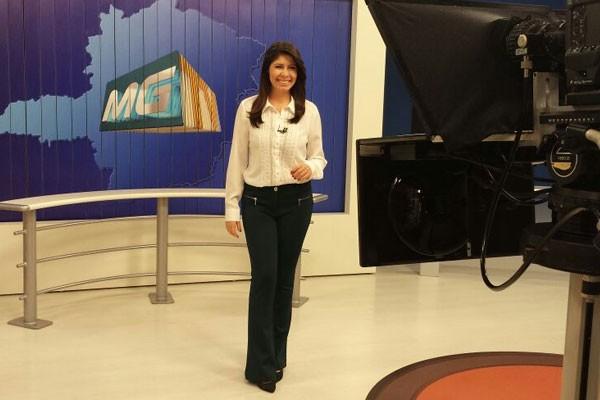 Vanessa Carlos está de volta a telinha da TV Integração (Foto: Divulgação)