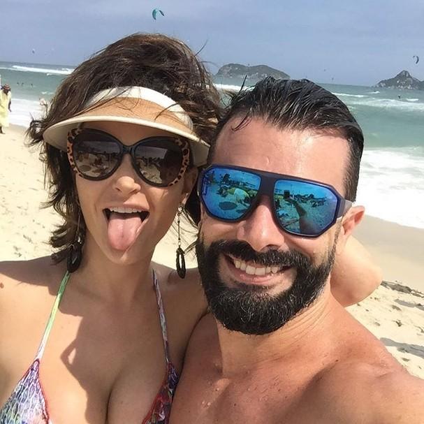 Laura Keller e Jorge Sousa curtem vida de casado (Foto: Reprodução Instagram)