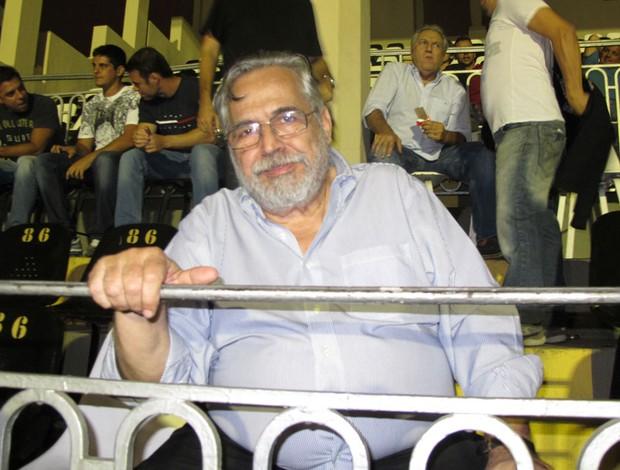 Eurico Miranda despedida Edmundo Vasco (Foto: Gustavo Rotstein/Globoesporte.com)