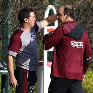 André Jardine Ricardo Gomes São Paulo (Foto: Marcello Zambrana/Agif/Estadão Conteúdo)