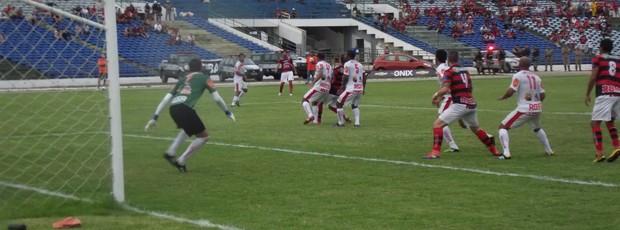 Campinense x Auto Esporte, pelo Campeonato Paraibano (Foto: Silas Batista/Globoesporte.com)