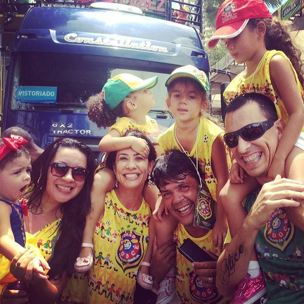 Scheila Carvalho em Salvador (Foto: Instagram / Reprodução)