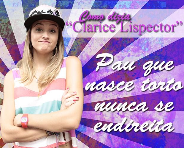 Como diria Clarisse Lispector... (Foto: Malhação / TV Globo)