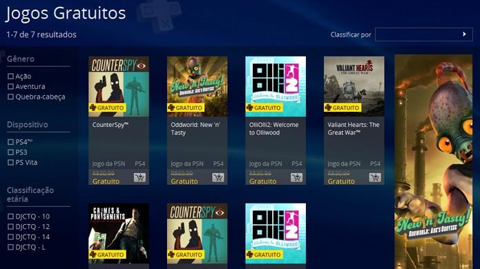 Jogos gratuitos da PS Plus em março de 2015 (Foto: Reprodução/Rafael Monteiro)