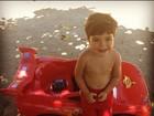 Ju Paes posta foto do filho: 'Meu melhor presente com o seu presente'