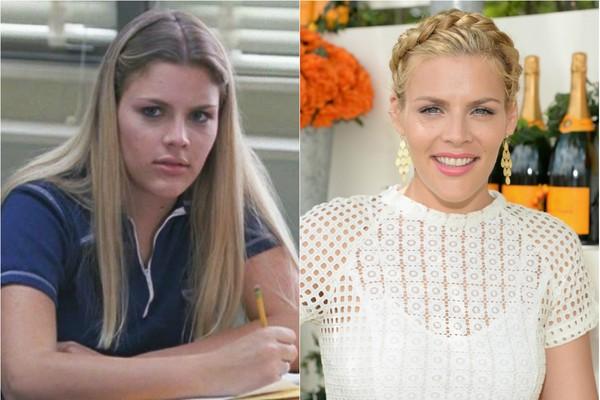 Busy Philipps – a Laurie de 'Cougar Town' – também atuou em 'Dawson's Creek'. Mas antes disso, ela participou da série 'Freaks & Geeks' como Kim Kelly (Foto: Getty Images e Reprodução)