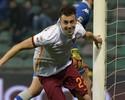 Sassuolo perde pênalti, e Roma vence com gols de Salah e El Shaarawy