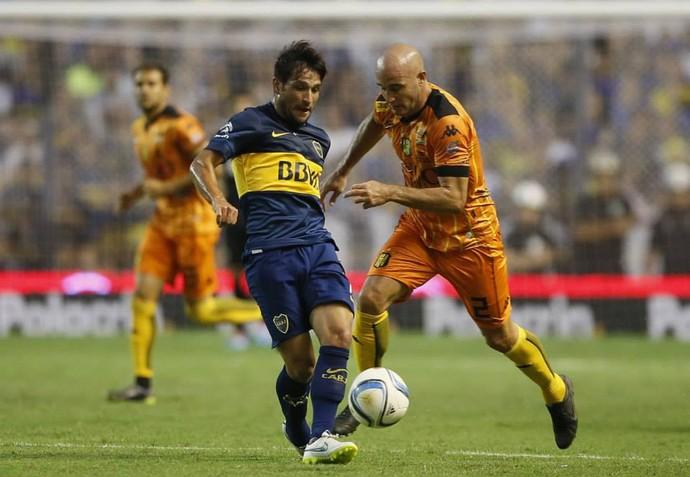 Lodeiro Boca Juniors (Foto: Site Oficial do Boca Juniors)