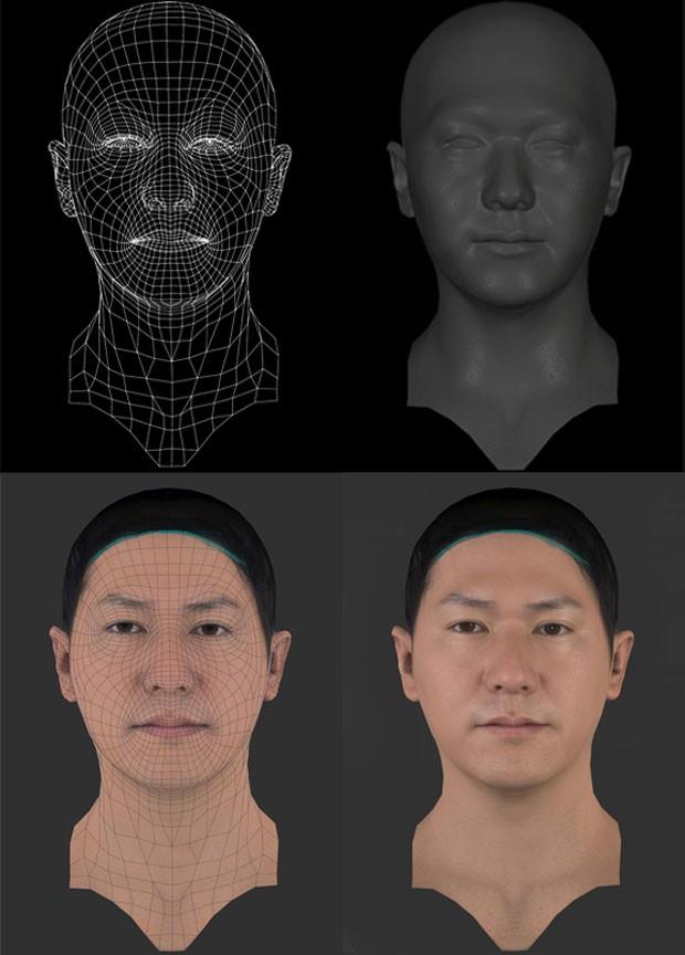 Sistema gráfico promete criar rostos próximos do real em 'PES 2014' (Foto: Divulgação/Konami)