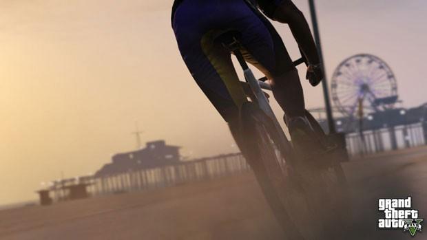 Rockstar mostrou a bicicleta que estará no game 'GTA V' (Foto: Divulgação)